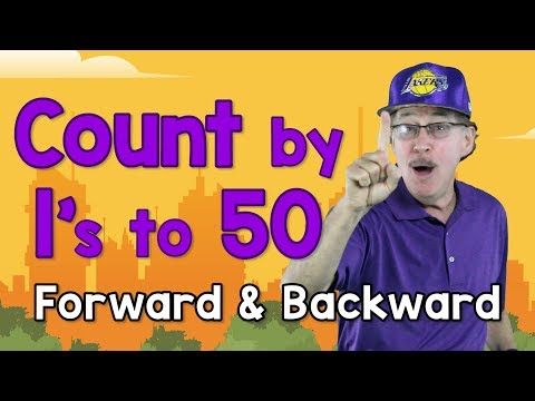 Count by 1's to 50 - Forward and Backward-Jack Hartmann