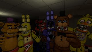 GERMAN | Fredbear's Band vs Freddy Fazbear's Band | Freddy Fazbear's Pizzeria Rap Battles #5