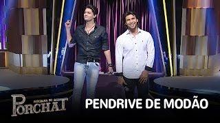 """Munhoz e Mariano cantam """"Pendrive de Modão"""""""