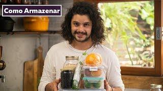 COMO FAZER OS ALIMENTOS DURAREM MAIS   Cozinha de Quarentena   Mohamad Hindi