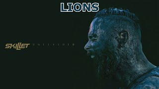 """Skillet - Lions [Official Audio + Lyrics] FROM NEW ALBUM """"UNLEASHED 2016"""""""