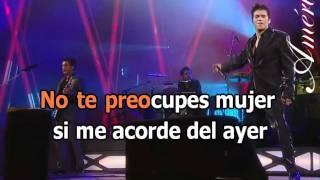 Americo - Me Olvide De Tu Amor [KaraoKe]