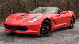 2016 Chevrolet Corvette Stingray Z51 Convertible Start Up, Road Test, and In Depth Review