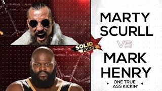 "WWE/ROH Mashup: Mark Henry and Marty Scurll - ""One True Ass Kickin"""