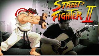 "Street Fighter ""Hadouken Theme"" on Fingerstyle by Fabio Lima"