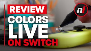 Colors Live Review (Switch / Switch eShop