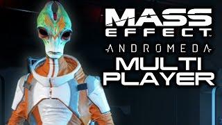 MASS EFFECT ANDROMEDA: Multiplayer Ultra Rare Classes Stream! (Salarian Operator and Angara Avenger) width=