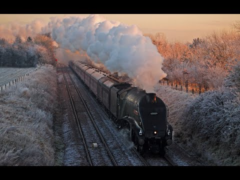 "60009 ""Union of South Africa"" on ""The York Yuletide Express"" – 13/12/2012"