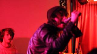"""Reignwolf performs """"In the Dark"""" live in Pittsburgh at Brillobox, July 30, 2014"""
