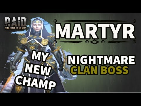 [RAID SHADOW LEGENDS] MARTYR NM CB