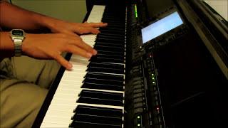 Just As I Am - piano instrumental hymn with lyrics