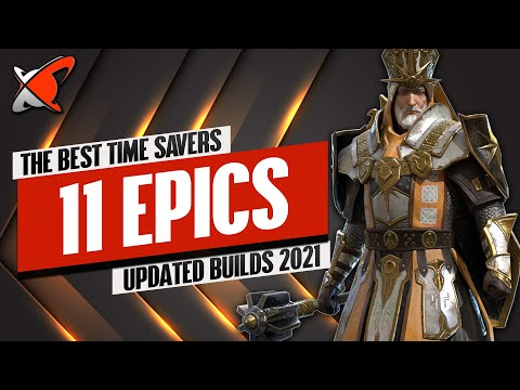 THESE 11 EPICS WILL HELP YOU SAVE TIME !! | My Updated Builds 2021 | RAID: Shadow Legends