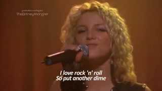 Britney Spears I Love Rock 'N' Roll Crossroads HD Lyrics