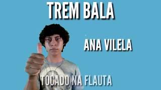 TREM BALA - Ana vilela- tocado na flauta doce