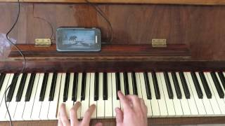 Lily Allen - Somewhere only we know - PLAYBACK - piano cover שיראל ביתן