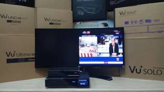 Dreambox DM900 Ultra HD & Dreambox DM520 HD - одновременное включение.