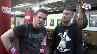 Des Trains With Ricky Burns