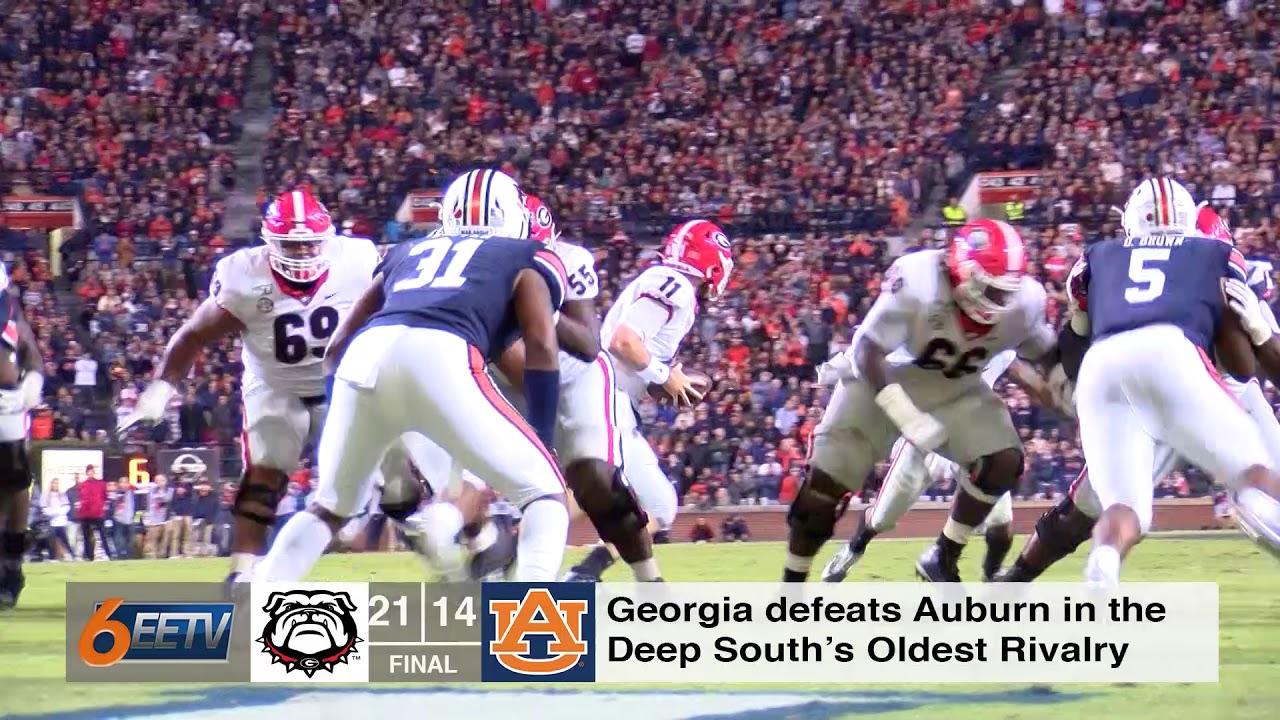 Takeaways From Auburn vs Georgia - Eagle Eye TV