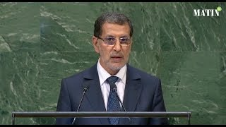 Allocution de Saad Eddine El Othmani lors de la 73e session de l'Assemblée générale de l'ONU