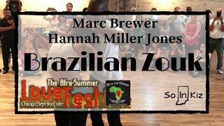 🔹Brazilian Zouk Demo ~ Marc Brewer & Hannah Miller-Jones