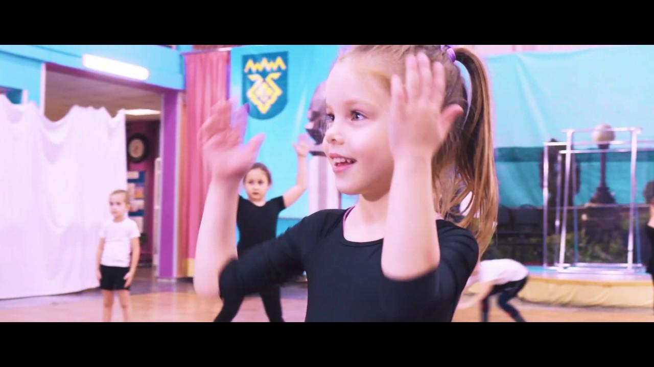 Первые занятия танцами. Младшая группа. 2019