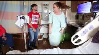 """Maritza Bustamante pasa su trabajo de parto bailando """"Despacito"""""""
