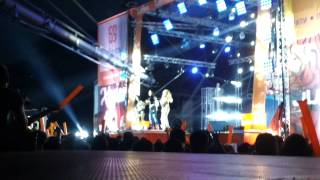 Galin , Ani Hoang i Kristiana - Mejdu nas (LIVE BURGAS - PLANETA LQTO 2014)