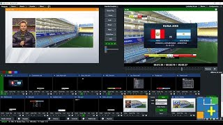 vMix iSoccer - BroadCast Package (Paquete)