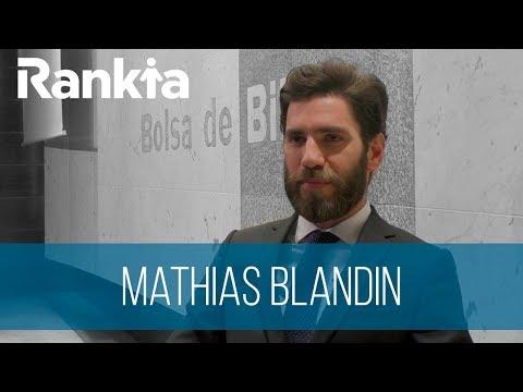 Entrevista a Mathias Blandin, Responsable de Negocio Institucional en La Financière de l'Echiquier.  Nos habla de las perspectivas de crecimiento en La Financiere L´Echiquier, del comportamiento de la renta variable en 2018 y de los criterios de inversión value a la Renta Variable en el fondo Echiquier Value.