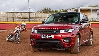 Range Rover Sport vs speedway world champion