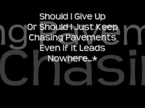 Adele - Chasing Pavements Chords - Chordify