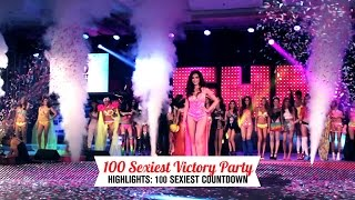 The 100 Sexiest Countdown At The FHM 100 Sexiest Victory Party