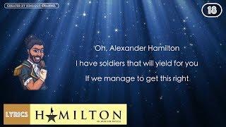 #18 Hamilton - Guns And Ships (VIDEO LYRICS)