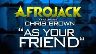 Afrojack feat. Chris Brown - As Your Friend (Instrumental) (LYRICS IN DESCRIPTION)