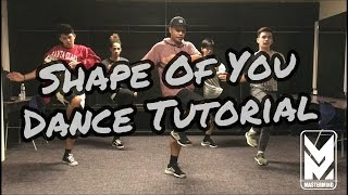 Shape Of You Dance Tutorial | Mastermind