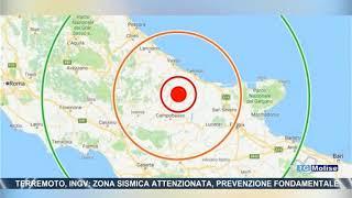 Terremoto, Ingv, zona sismica attenzionata, prevenzione fondamentale