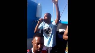 Darren Jay with MC's Stormin and Trigga - Live @ SunBeatz 2015