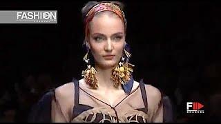 DOLCE&GABBANA Spring 2013 Milan - Fashion Channel