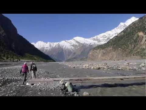 unterwegs in Nepal: zu Fuss von Ghasa nach Jomsom