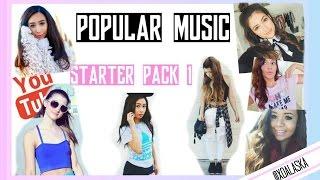 MUSIC POPULAR YOUTUBERS USE || STARTER PLAYLIST 1 (beauty guru)