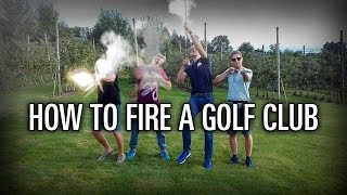 BRP on Tour: How to fire a golf club