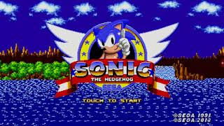 Sonic 1 episode 1 first time running at the speed of sound