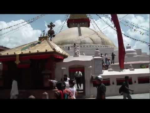 Boudhanath Stupa in Kathmandu (Nepal) 23-05-2011