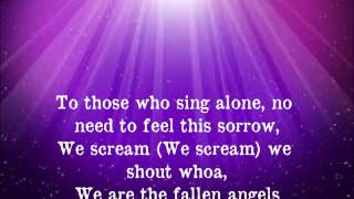 Black Veil Brides - Fallen Angels {Lyrics}