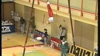 Ivan IVANOV (BUL) rings - 1995 Hapoel Games