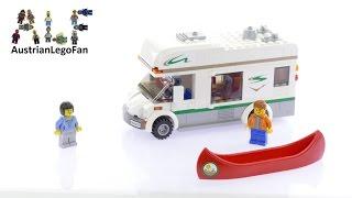 Lego City 60057 Camper Van - Lego Speed Build Review