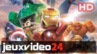 LEGO Marvel Super Heroes - Comic-Con Trailer FR HD (PS4, Xbox One)