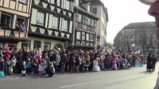 carnaval strasbourg 2015 - defilare pe 2 km