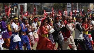 "RAW: Nepal's ""Army Day"" parade to inspire nation after mega-quake"