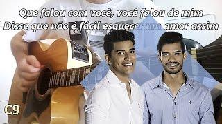 (Karaokê) Duas da manhã - Maycon & Vinicius -- Violão Instrumental (com letra e cifra)
